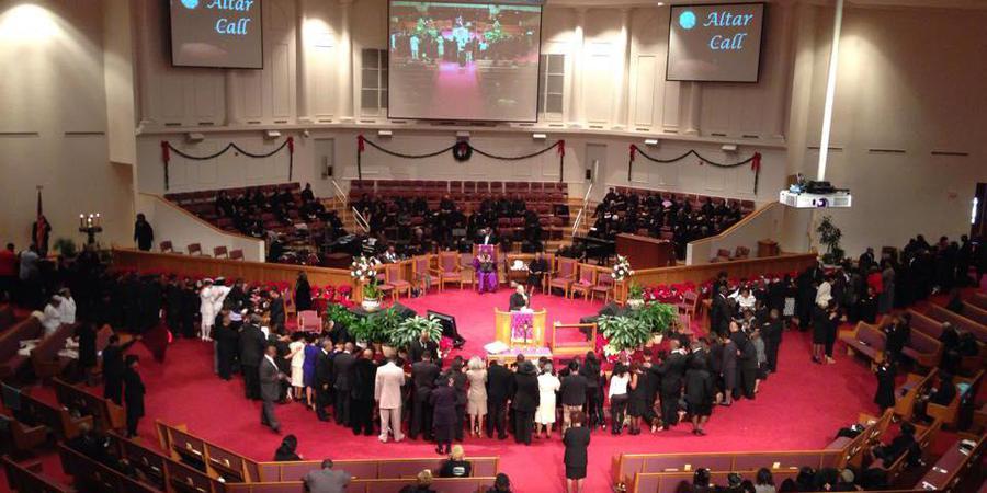 St. Phillip AME Church wedding Atlanta