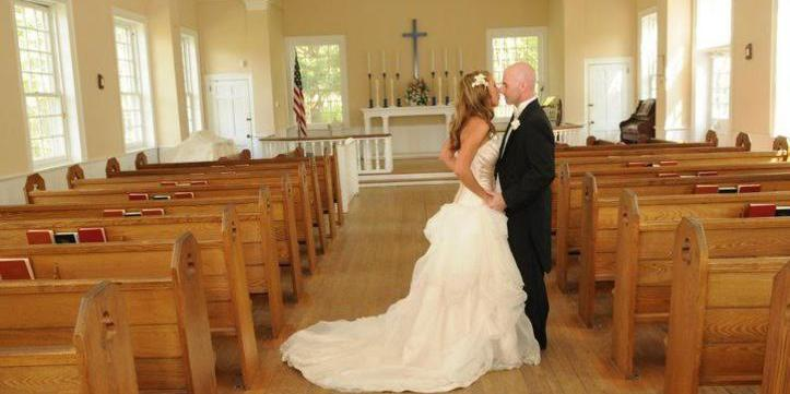 The Chapel at the Historic Village of Allaire wedding Jersey Shore