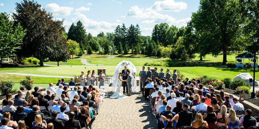 Ridgemont Country Club wedding Finger Lakes