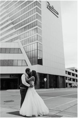 Radisson Hotel Fargo wedding North Dakota
