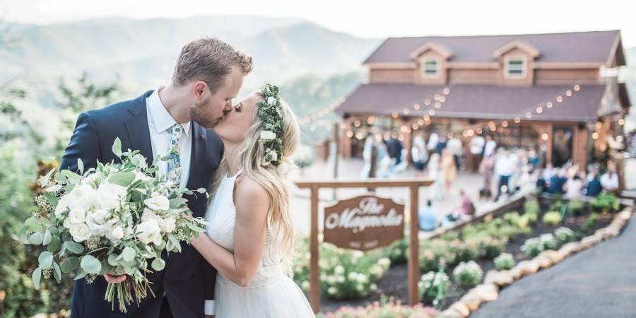 The Magnolia wedding Gatlinburg