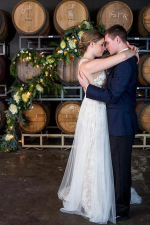 Enso Winery wedding Portland