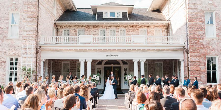 Inn at Carnall Hall wedding Arkansas