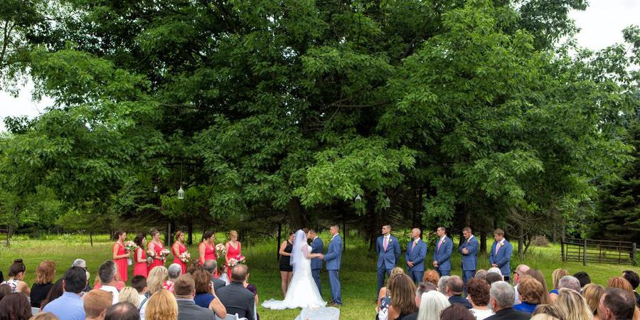WoodsEdge Farm Weddings & Events wedding Central Jersey