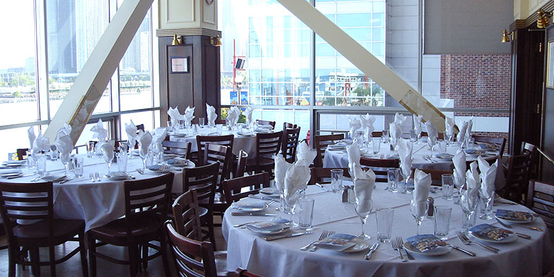 Riva Crab House on Navy Pier wedding Chicago
