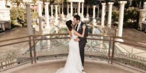 Caesars Palace wedding Las Vegas