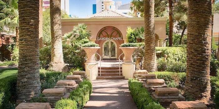 Flamingo wedding Las Vegas