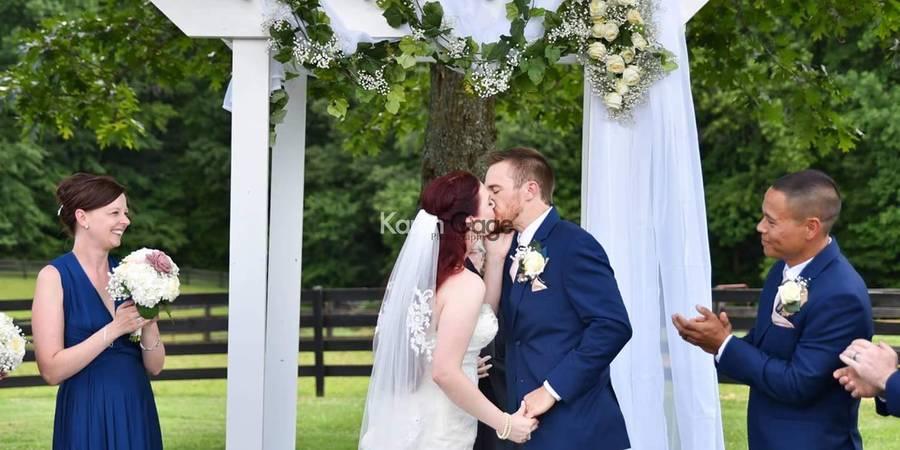 Bandit's Ridge wedding Charlottesville