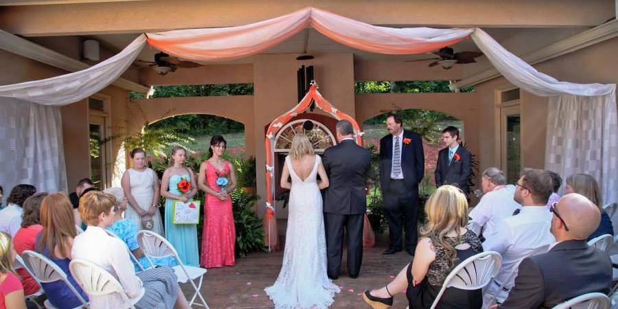 Maggie's Corner wedding Atlanta