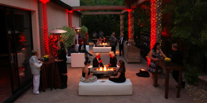 Harlyne J. Norris Pavilion wedding Los Angeles