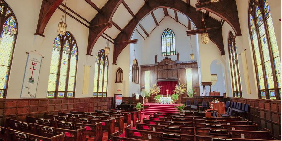 First Congregational UCC-Asheville wedding Asheville