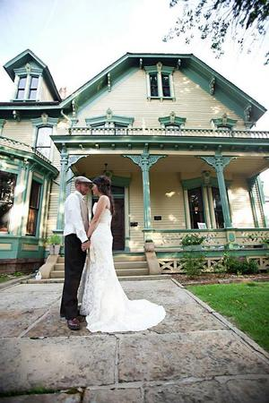 Clayton House wedding Arkansas