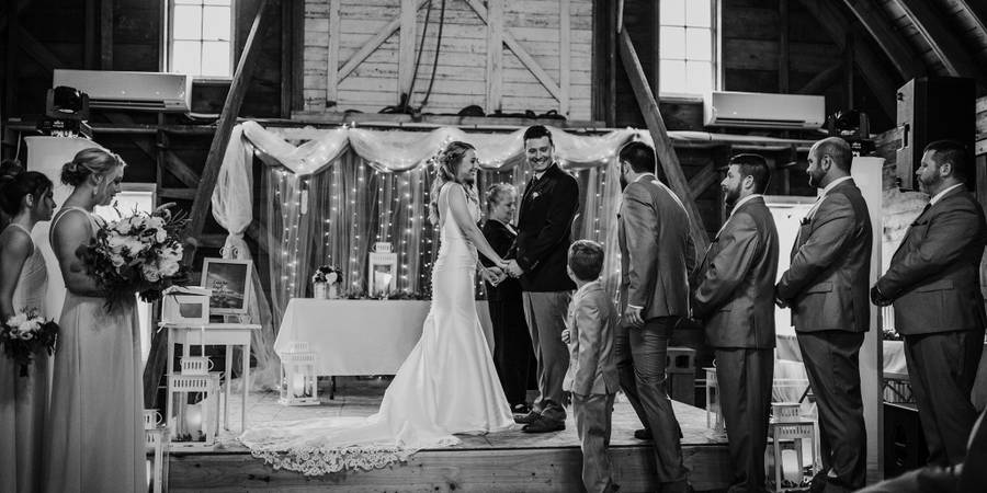 Lake Elsie Wedding Barn wedding North Dakota