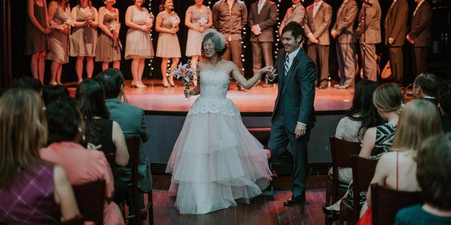 Mayne Stage wedding Chicago