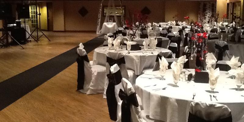Landmark Recreation Center wedding Central Illinois