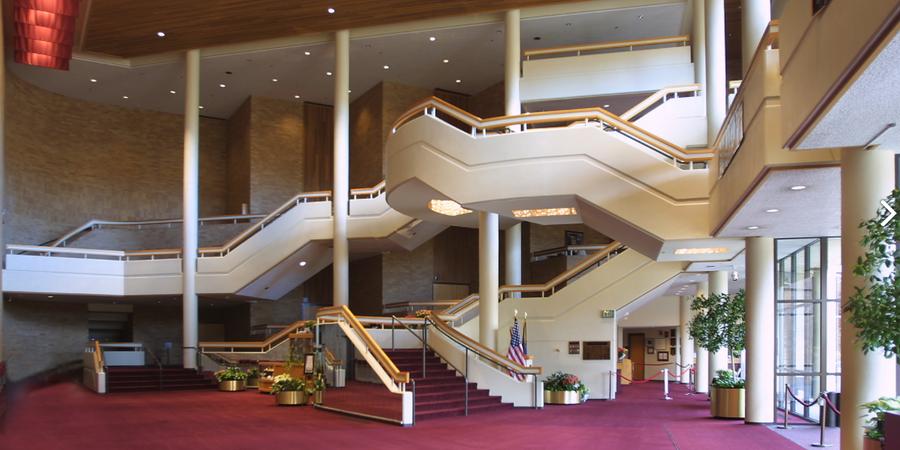 Velma V. Morrison Center for the Performing Arts wedding Idaho