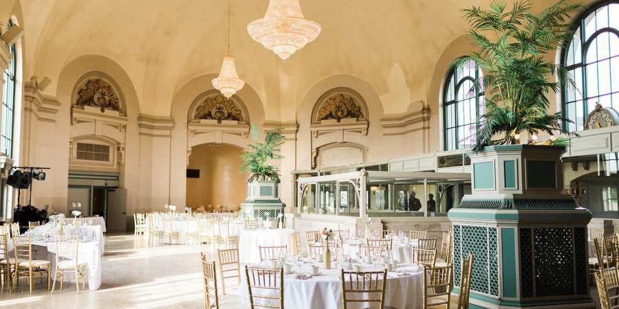 The Grand Ballroom At Joliet Union Station wedding Chicago