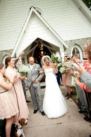 Historic St. Anne's Church wedding Southern Illinois
