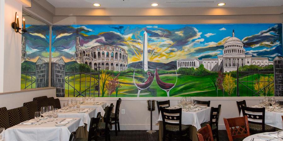 Aperto Restaurant wedding Washington DC