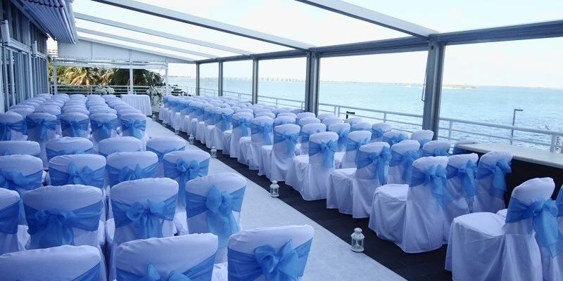 DoubleTree Grand Biscayne Bay Hotel wedding Miami