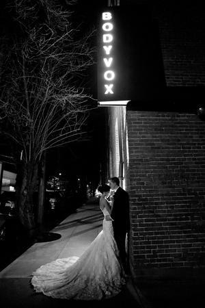 BodyVox Dance Center wedding Portland