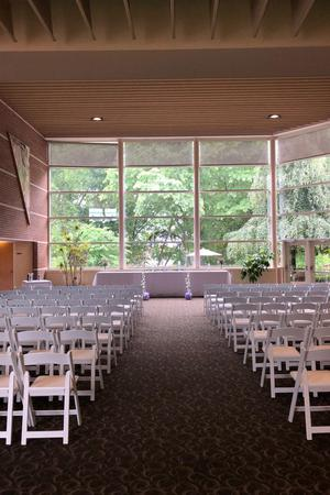 Fetzer Center wedding Kalamazoo