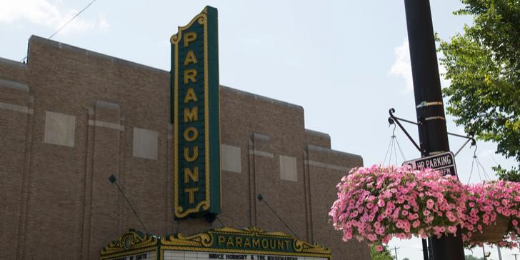 Paramount Arts Center wedding Lexington