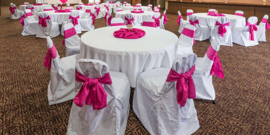 The Banquet Center at Days Inn wedding Columbus