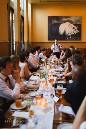 The Publican wedding Chicago
