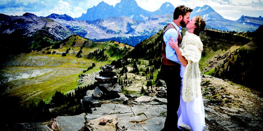 Grand Targhee Resort wedding Wyoming