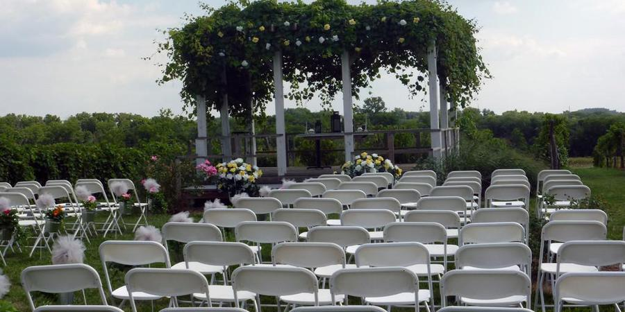 La Vida Loca Winery wedding Des Moines