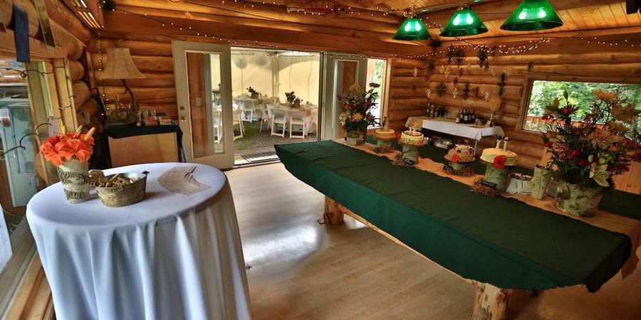 Alaska Heavenly Lodge wedding Alaska