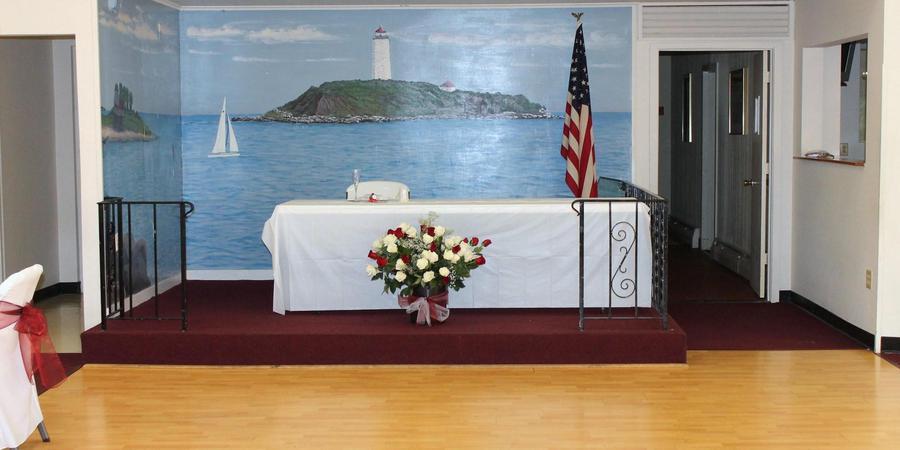 East Creek Landing Banquet Hall wedding New Haven