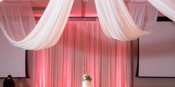 The Hotel at Kirkwood Center wedding Des Moines