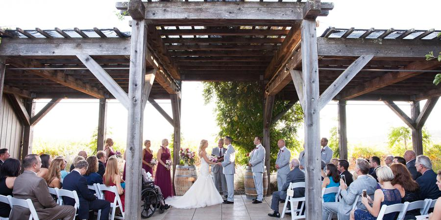deLorimier Winery wedding Napa/Sonoma