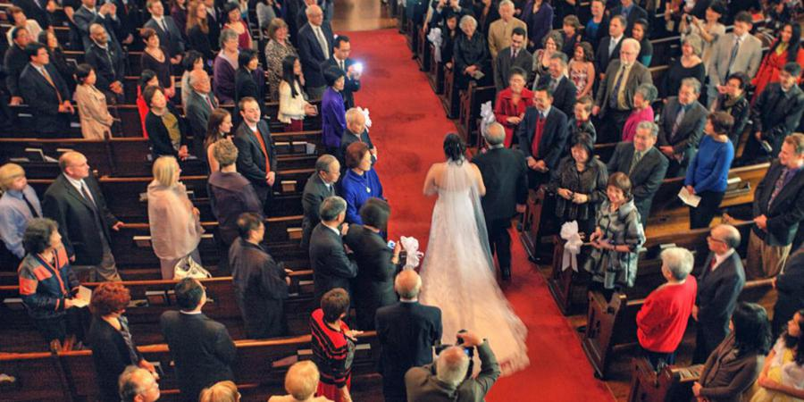 First Unitarian Universalist Church and Center wedding San Francisco