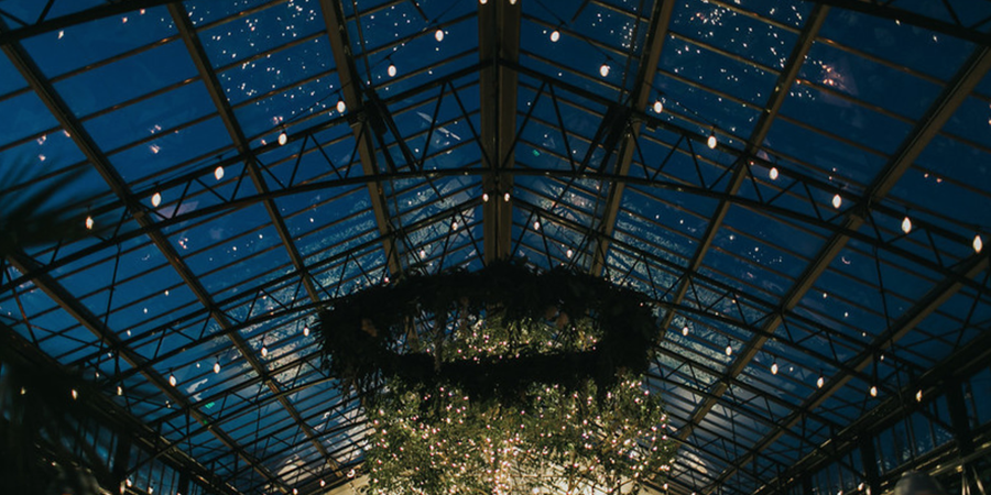 Planterra Conservatory wedding Detroit