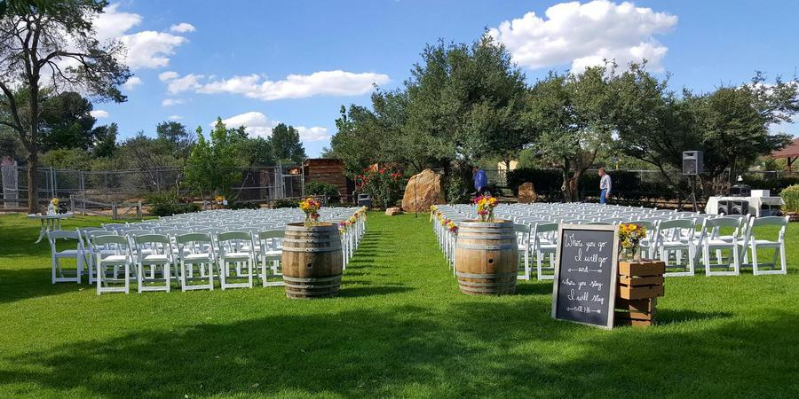 Heritage Park Zoological Sanctuary wedding Sedona/Flagstaff