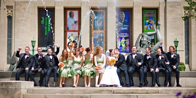 Indiana University Auditorium wedding Southern Indiana