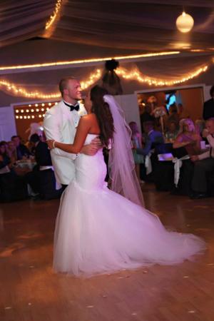 Eagle Lake Convention Center wedding Lexington
