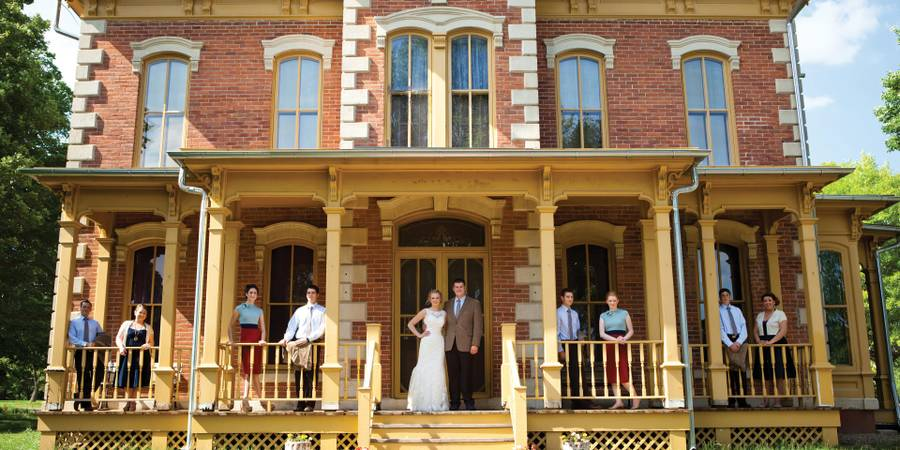 Living History Farms wedding Des Moines