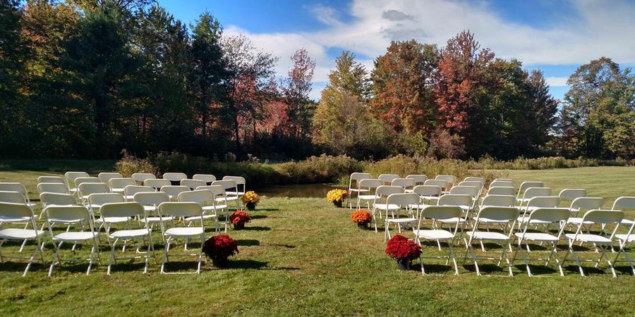 Arrowhead Golf Course wedding Vermont