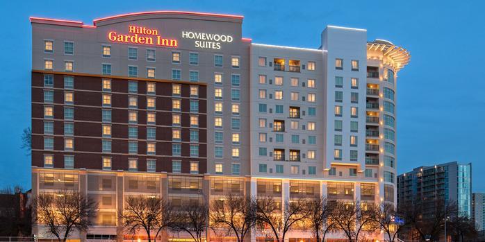 Hilton Garden Inn/Homewood Suites Atlanta Midtown wedding Atlanta