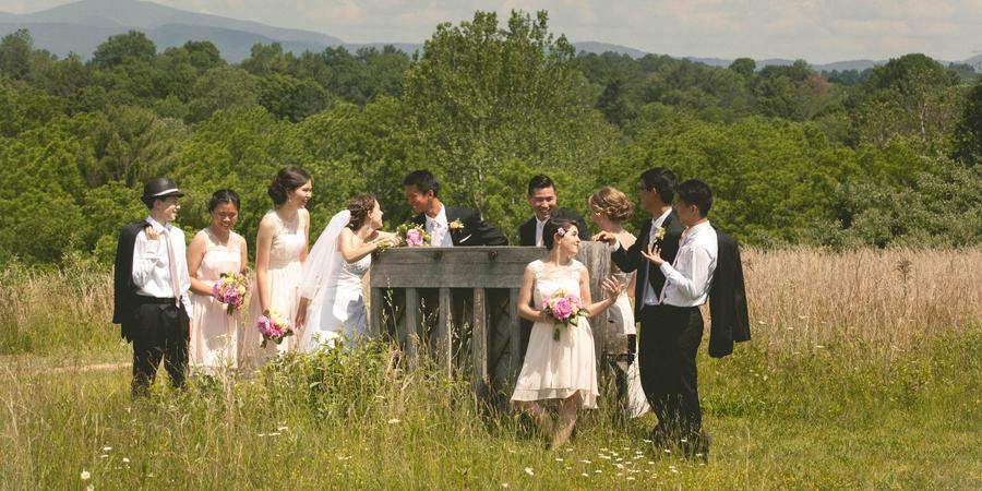 Boxerwood Nature Center & Woodland Garden wedding Lexington