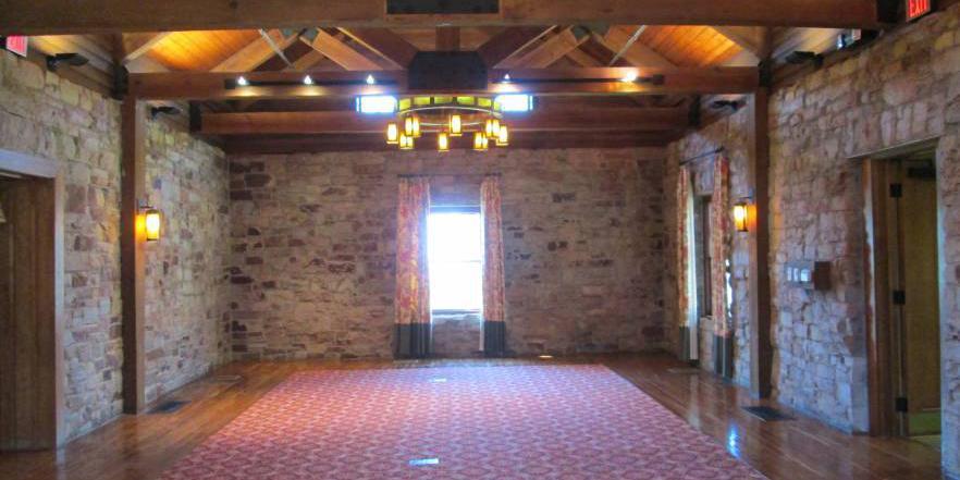 Monte Sano State Park Lodge wedding Huntsville