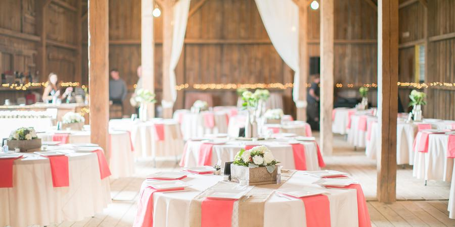 Century Barn Events wedding Madison