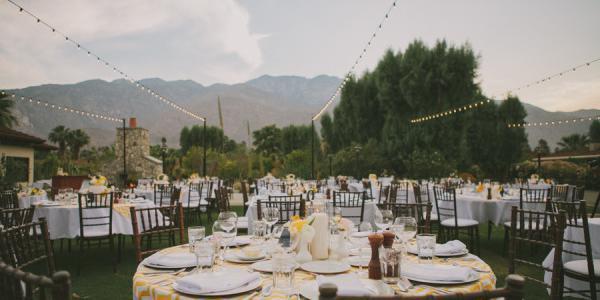 Smoke Tree Ranch wedding Palm Springs