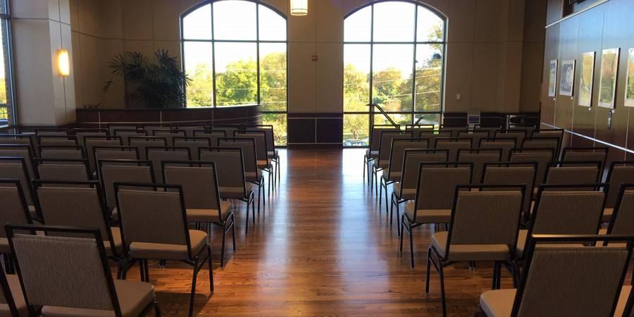 Event Halls at Greer City Hall wedding Greenville
