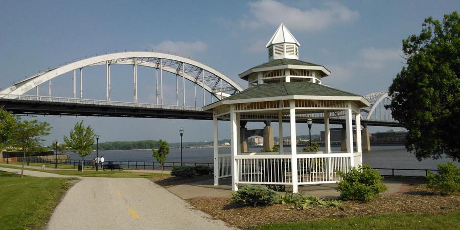 The Riverfront wedding Central Illinois