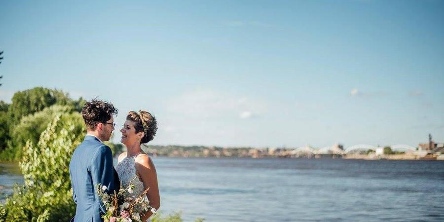 Credit Island wedding Des Moines
